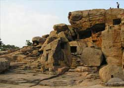 udayagiri and khandegiri caves